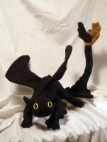Toothless Plush by stephanielynn