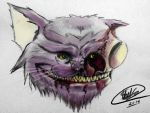 Cheshire Cat: Undead by Casualmisfit