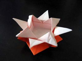 Origami Star Box by origami-guy