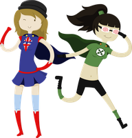 x-Ray and Vav Genderbender! by Yuuchou