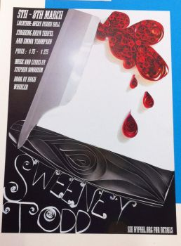 Sweeney Todd poster design by TheAwesomeFaerie