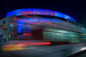 Staples Center by stevecliff