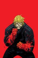 Luther Strode TPB Cover by sobreiro