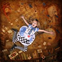 Alice in Wonderland by MelGama
