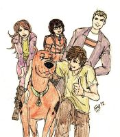 Scooby and the Gang by kyomusha