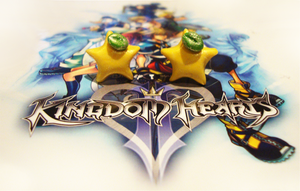 Kingdom Hearts - Paopu Studs by LittleCharms