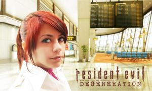 Claire Redfield RE Degeneration cosplay by VickyxRedfield