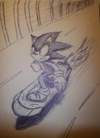 Sonic Sketch 2 by NicoTopin