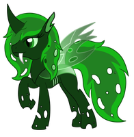 Commission: Fire Ant the Changeling by SilverRomance