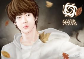 EXO - SEHUN (Wallpaper) by Mom2maM