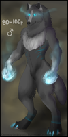 Werewolf Adoptable - CLOSED by MoonKiarara