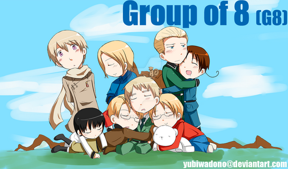 APH- Group of 8 by YubiwaDono