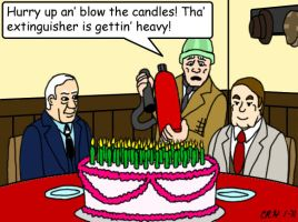 Clegg and Truly Birthday by MST3Claye
