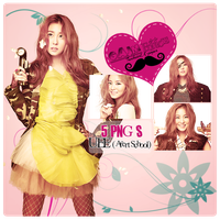 Pack PNG UEE (After School) by GAJMEditions