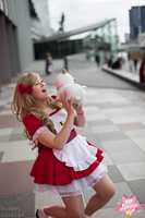 Bee and Puppycat with Global Cosplay 6 by Samii-Doll