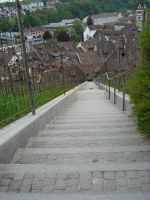 Long stairway to Munot by Lost-in-Death