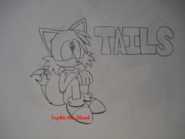Tails Lost In Thought by Sophie-The-Skunk