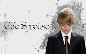 Cole Sprouse Wallpaper by littlenatnatz101