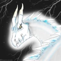Artic Dragon_BL by Leox90