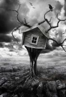 my tree house by Deirdre-of-Sorrows