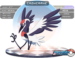 #016: Crowcrane by Lanmana