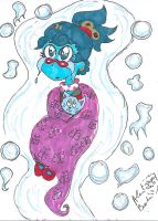 Sad and in Hiding Lana B ghost 2 by Kittychan2005