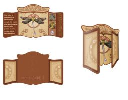 Art Nouveau folder by JohwMatos