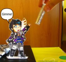 Paperchild Adam Lambert by KarolaKH