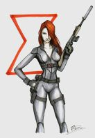 Black Widow by i-am-thomas