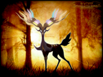 .:Spirit Of The Forest:. by MoonyWings