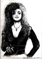 Bellatrix Lestrange by NastyLady