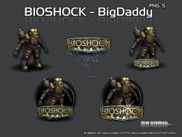 Bioshock BigDaddy Pack by 3xhumed