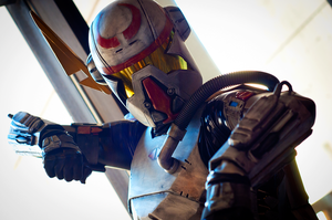 Star Wars Bounty Hunter Cosplay - DragonCon by Swoz