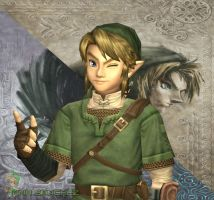 Twilight Princess -Winking Link :D by ReyMysterio79907
