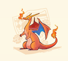 Charizard by spaded-square