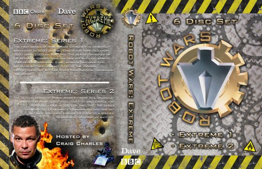 Robot Wars: Extreme 6-DVD set cover by OliverGeary