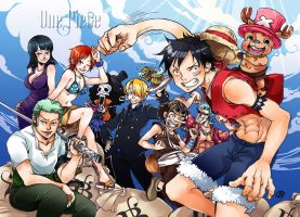 One Piece by sanoe