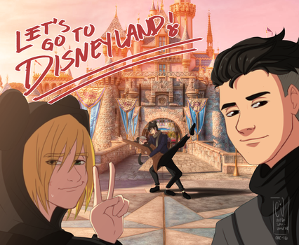 Let's go to Disneyland! by URESHI-SAN
