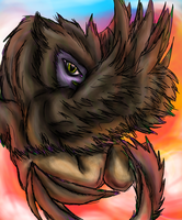 Dusk's Griffin :AT: by LeRainbowTurtle
