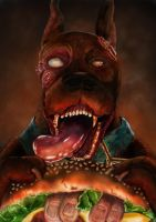Scooby Doo reimagined by gineticz