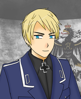If Prussia Wasn't Albino by IrkenFundip