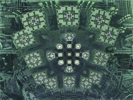 SurfCrossBox 2 - Mandelbulb 3D fractal by schizo604
