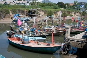 Thai Fishing Village by Fitzmx6