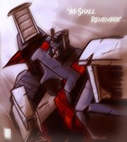 We Shall Remember Ultra Magnus by dcjosh