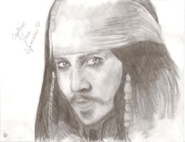 CAPTAIN Jack Sparrow by wolverineluver45