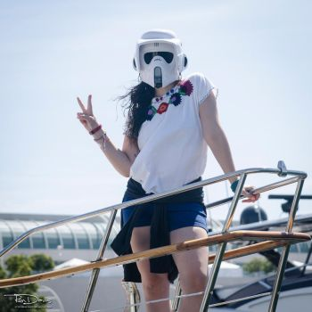 Too Cool Stormtrooper by Reactuate