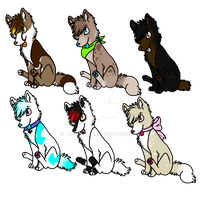 Cenine adopts by LoserDoge