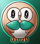 Rowlet by Cameil