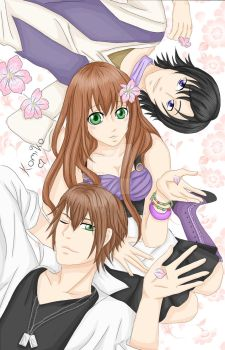 Sucrette x Kentin and Armin (Amour Sucre) by The-Last-Teabag