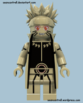 Lego Naruto - Tailed Beast Mode by seancantrell